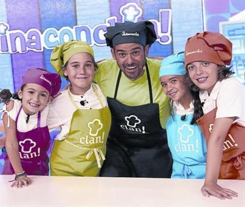 Cocina De Enrique Sanchez   Clan Ensena A Los Ninos A Comer Sano