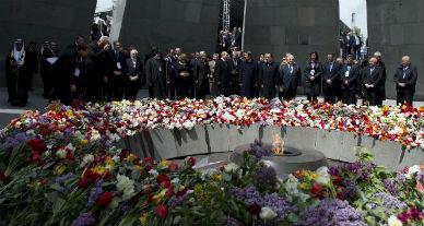 La verg�enza del genocidio armenio...