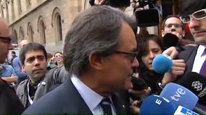 Artur Mas: El movimiento que teníamos que hacer para llegar a un acuerdo ya lo hemos hecho