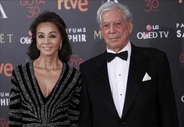 Mario Vargas Llosa y Isabel Presler