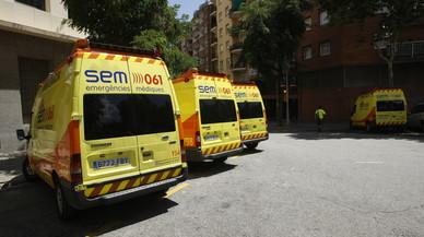 El conductor d'un cotxe mor en una col·lisió frontal amb un camió a Montblanc