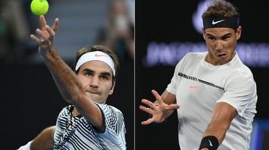 Nadal-Federer, la final 'vintage' d'Austràlia, en directe 'on line'
