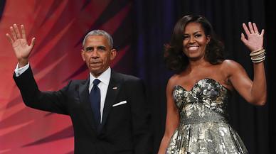 Els Obama escriuran les seves memòries per una xifra rècord de 65 milions de dòlars