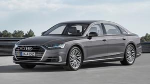 Imagen exterior del Audi A8 Largo.