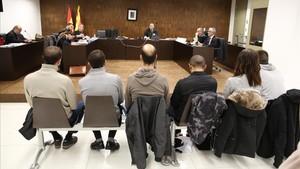 Juicio contra seis antifascistas acusados de agredir a ultras el 12-O