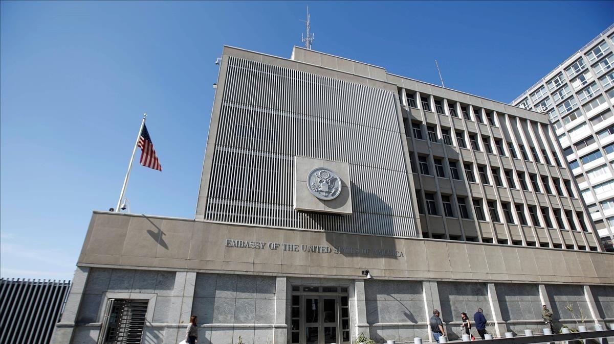 embajada de eeuu en israel