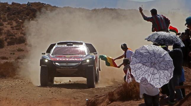 Sainz gana la séptima etapa del Dakar