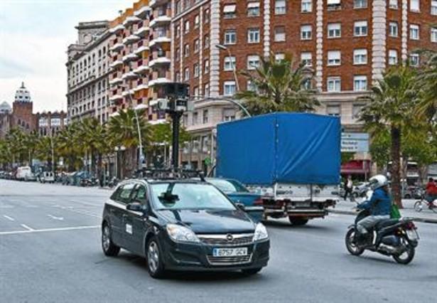 Europa investiga a google por usar street view para - Calle marina barcelona ...