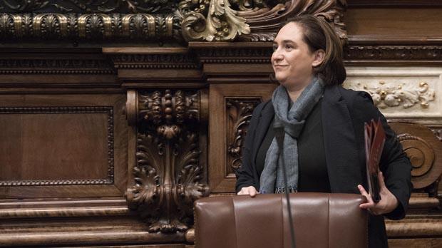 Colau descarta una coalición con ERC en Barcelona
