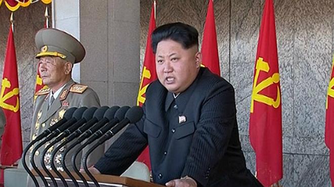 Kim Jong-un exclama davant les masses que està preparat per a la guerra amb els EUA