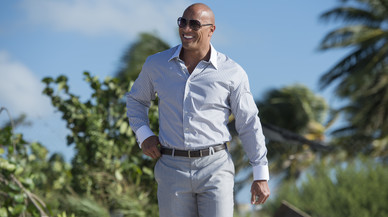 'La Roca' estrena candidatura a la Casa Blanca