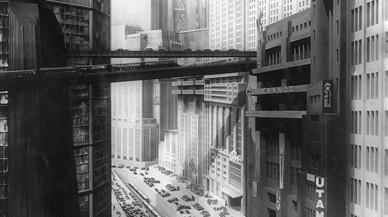 La ciudad de 'Metrópolis' (1927).
