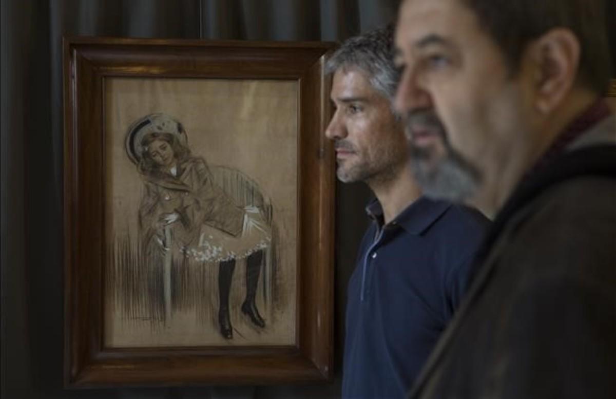 Casas, Colom i el mòbil de Picasso