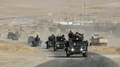Les forces iraquianes comencen l'assalt terrestre de l'oest de Mossul