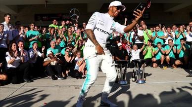 Hamilton, el campió vegà