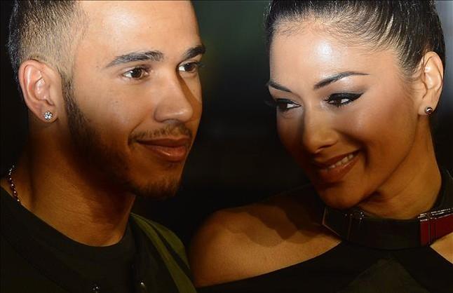 Lewis Hamilton rompe con su novia Nicole Scherzinger