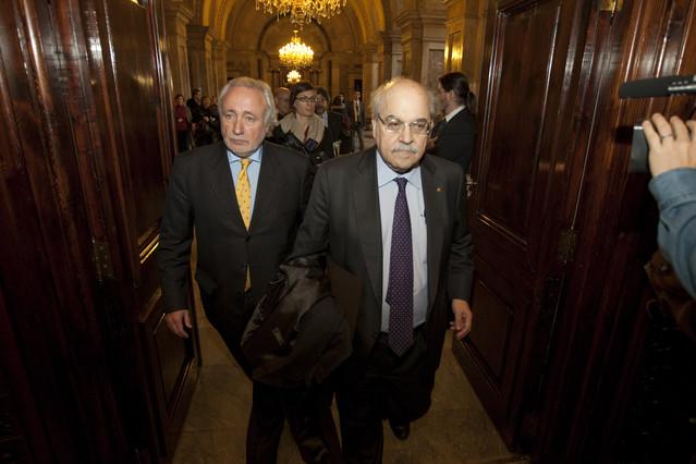Mas-Colell avisa que Catalunya incumplir� el d�ficit si el Estado no lo relaja