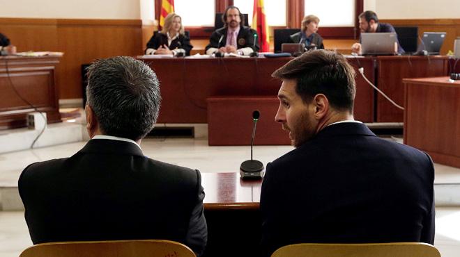 Messi condenado a 21 meses por el tribunal Supremo.