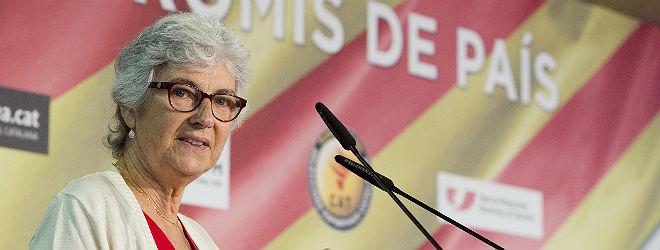 Muriel Casals, en julio del a�o pasado.