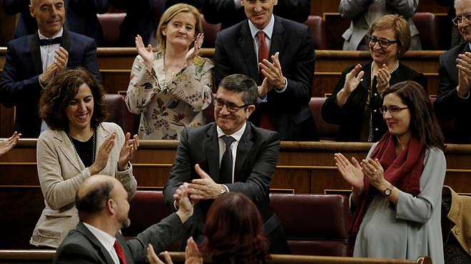 [EL DIARIO VASCO] HEMEROTECA Patxi-lopez-elegido-presidente-del-congreso-1452692676782