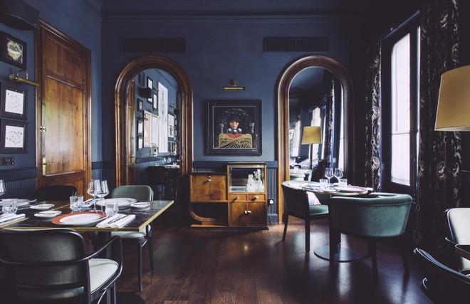 Sala delrestaurante La Dama.