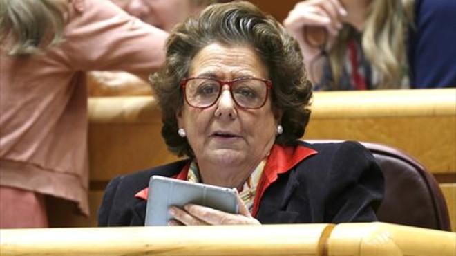 Rita Barber�, exalcaldesa de Val�ncia y senadora del PP.