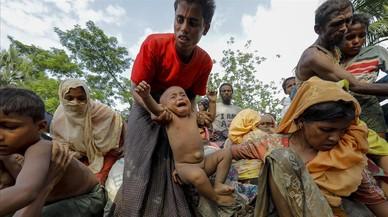 """La ONU considera """"limpieza étnica"""" la persecución de los rohinyás"""