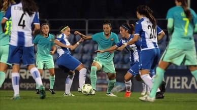 El Barça apallissa l'Espanyol en el derbi de la Lliga femenina (1-6)