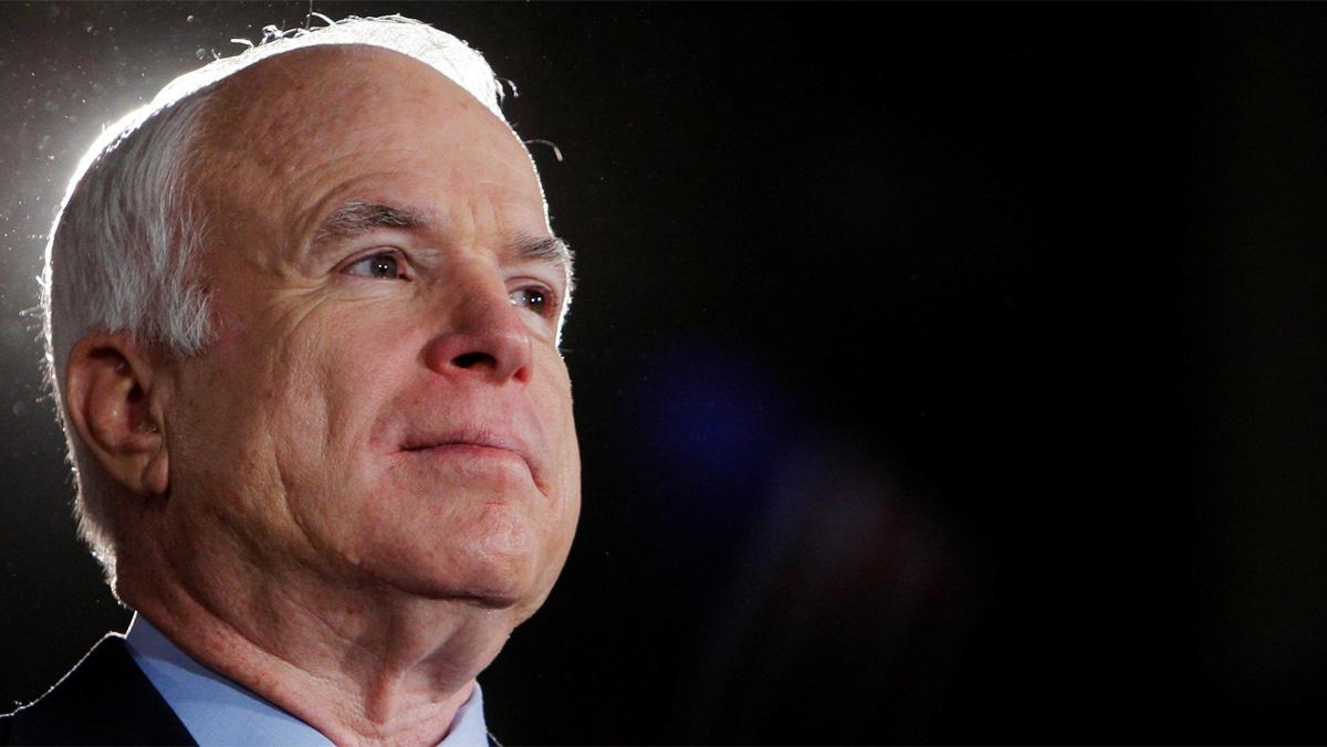 El senador republicano John McCain padece un tumor cerebral
