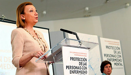 La presidenta de Aragn, Luisa Fernanda Rudi.