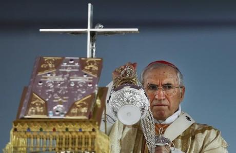 Rouco Varela, durante la celebración de la Misa de las Familias.