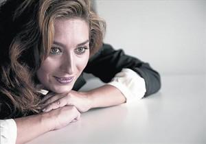 La cantaora Estrella Morente, la semana pasada en Madrid.
