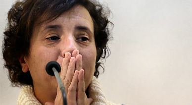 Teresa Romero, el pasado día 5.