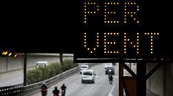 Prealerta en Catalunya por el riesgo de fuertes vientos e inundaciones