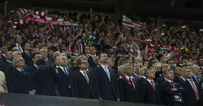 La pitada del himno en la final de la Copa del Rey