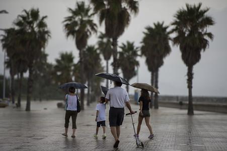 Nueva alerta por tormentas fuertes en el este de Catalunya