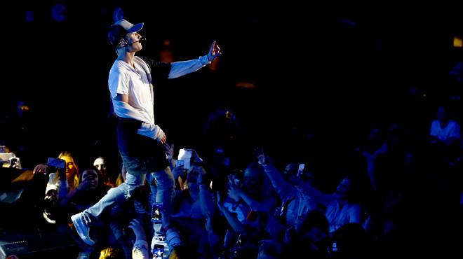 Espantá de Justin Bieber en Oslo