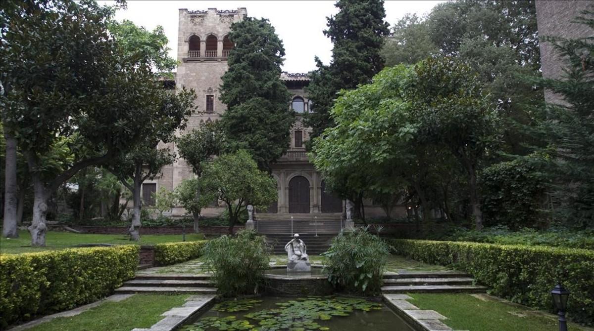 El jard n de la finca mu oz ramonet abre sus puertas al for Casa jardin barcelona