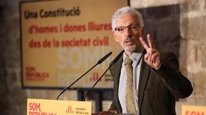 El senador por ERC Santi Vidal