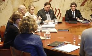 Mut de la reunión de Govern