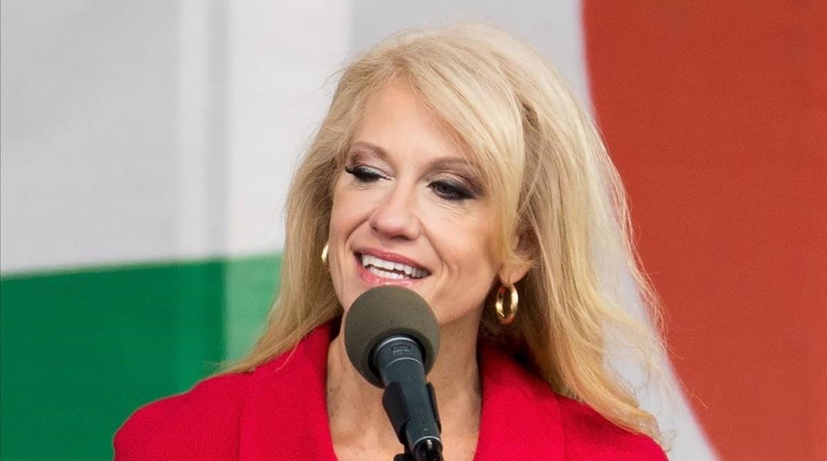 Kellyanne Conway, asesora de Trump.