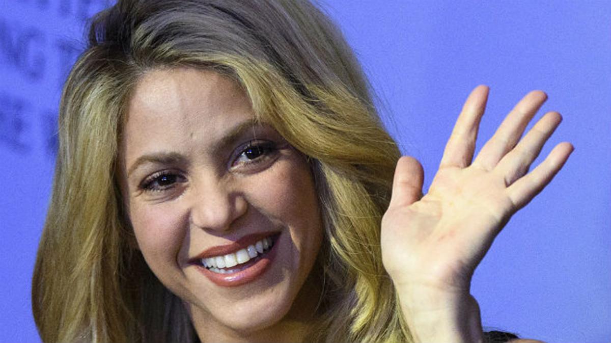 Shakira, el pasado enero.