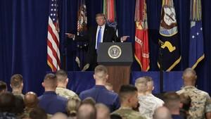 Trump anuncia su estrategia en Afganistán, el lunes 21 de agosto.