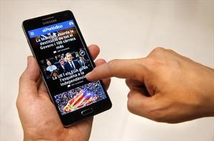 El nuevo diseño de la web permite una mejor visualización en tablets y móviles.<br/><br/><br/>