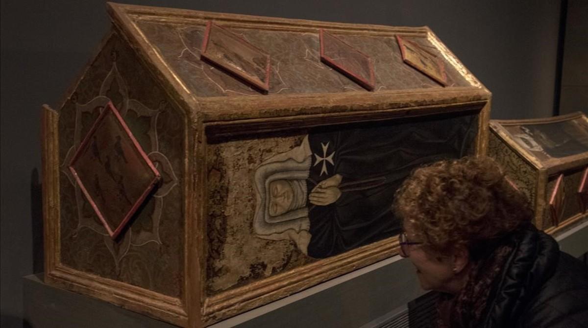 zentauroepp41113016 lleida 28 11 2017 museu diocesa de lleida caixes sepulcrals171129192943