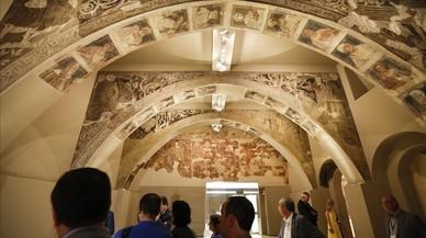 Insensata polèmica per les pintures de Sixena