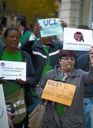 Desinter s de demora for Oficinas banco santander en barcelona