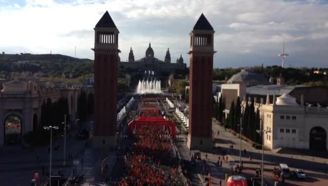 Barcelona viu aquest diumenge la 38a edició de la Cursa de la Mercè