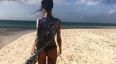 Blanca Padilla ha publicado una serie de imágenes en biquini en su cuenta de Instagram.