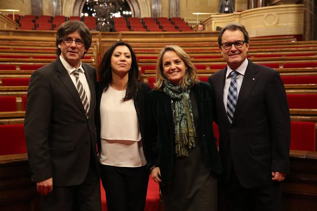 As� es Marcela Topor, la esposa del 'president' Carles Puigdemont